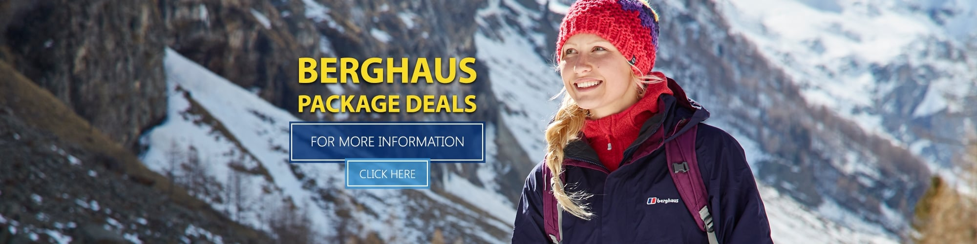 Berghaus Package Deals