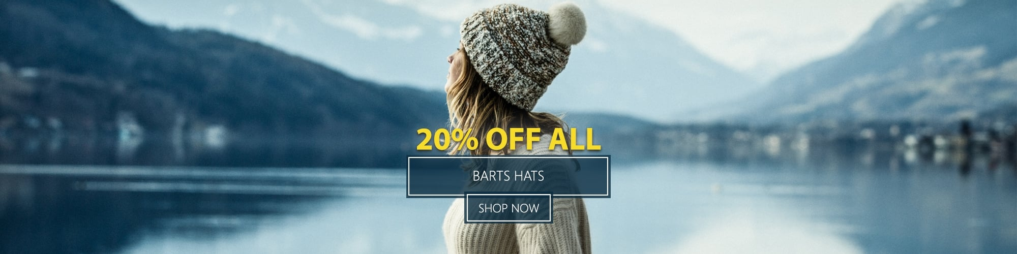 20% Off All Barts Hats