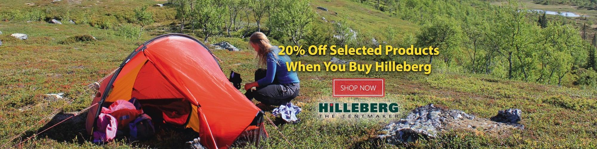 Hilleberg Tent Offer 2017