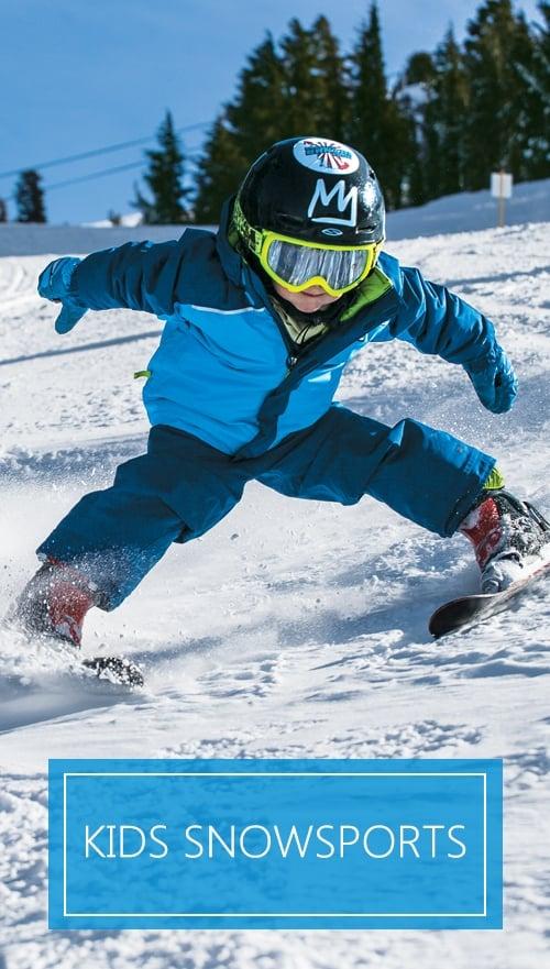 Kids Snowsports
