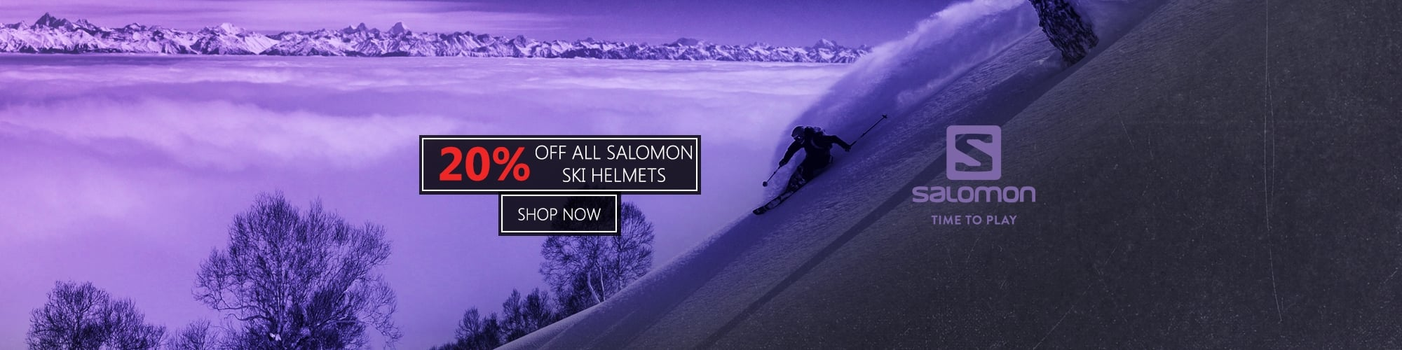 20% Off Salomon Ski Helmets
