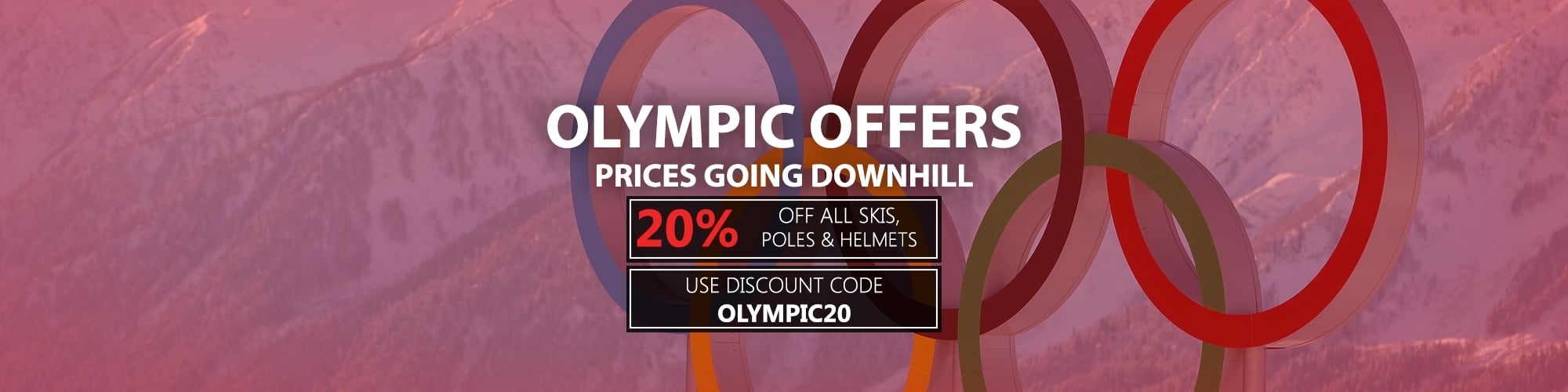 Olympic Offers 2018 - Prices Going Downhill