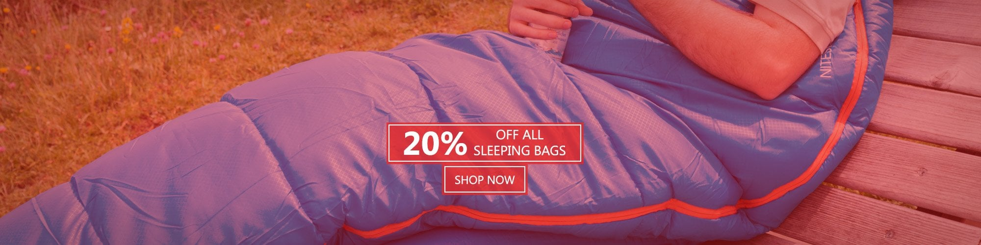 20% Off All Sleeping Bags
