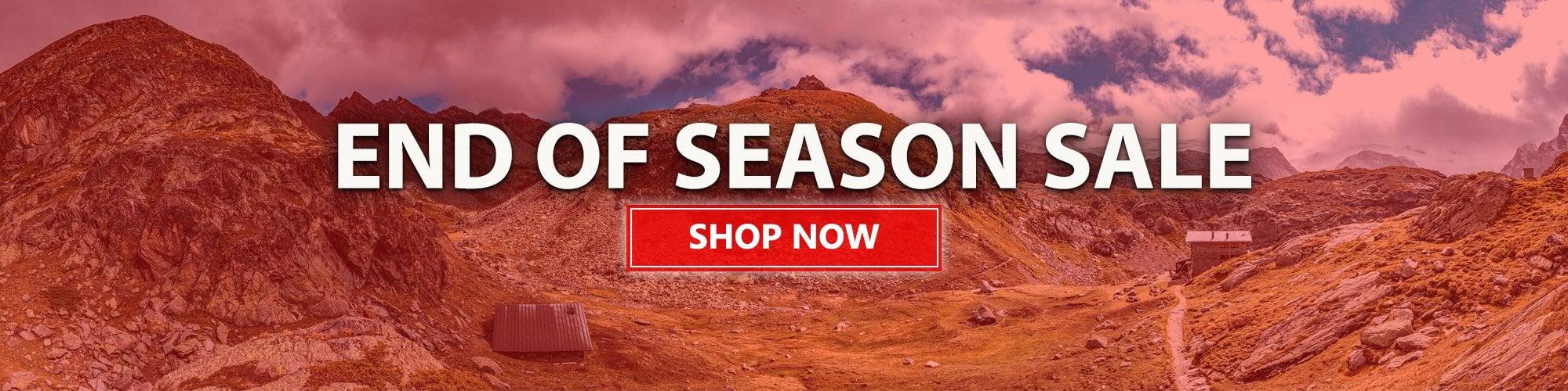 End of Season Sale - Summer 2020