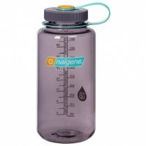 Wide Mouth Tritan Bottle 1 Litre - Aubergine