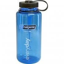 Wide Mouth Tritan Bottle 1 Litre - Blue