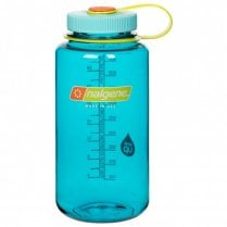 Wide Mouth Tritan Bottle 1 Litre - Cerulean