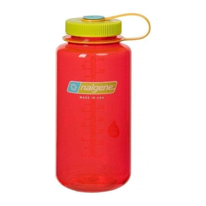 Nalgene Wide Mouth Tritan Bottle 1 Litre - Pomegranite