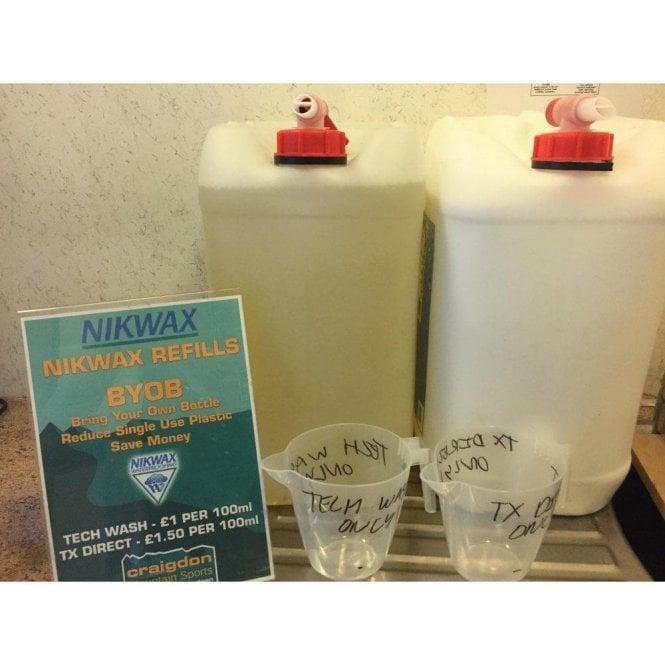 NikWax Bring Your Own Bottle Refills - Tech Wash