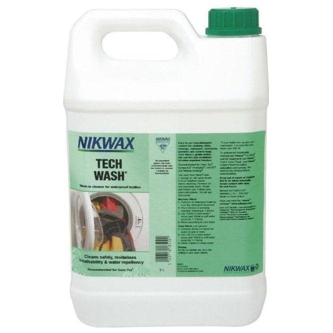 NikWax Tech Wash 5 litre