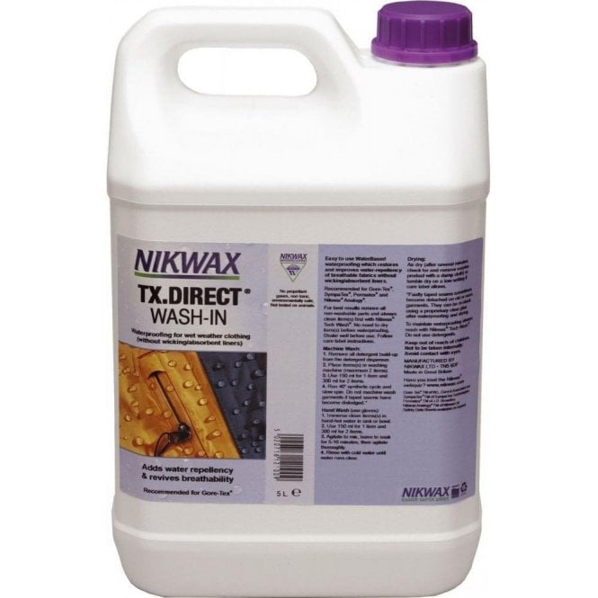 NikWax TX Direct Wash 5 Litre