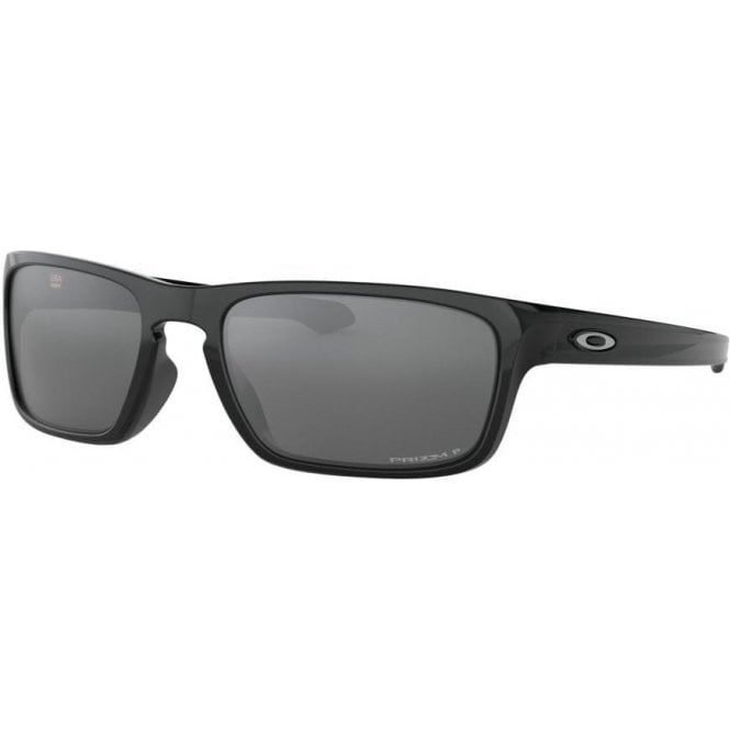 Oakley Sliver Stealth Polished Black - Prizm Black Polarized Lens