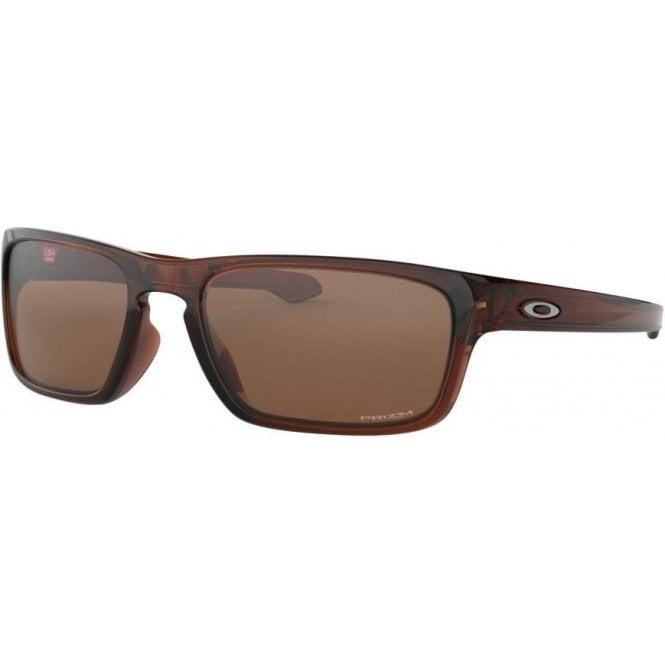Oakley Sliver Stealth Polished Root Beer - Prizm Tungsten Lens