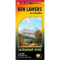Ben Lawers and Schiehallion Harvey Ultramap XT40