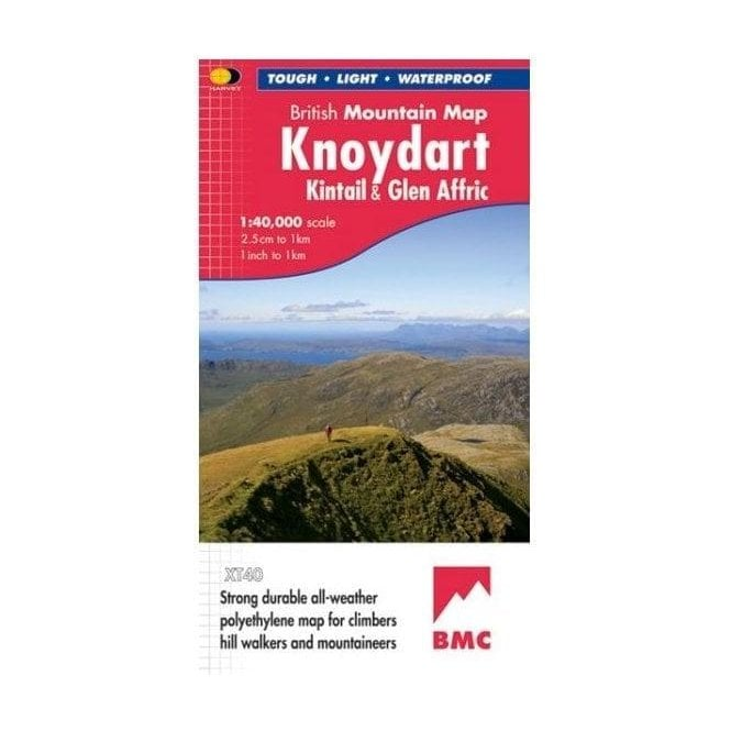 Ordnance Survey Harvey British Mountain Map - Knoydart, Kintail & Glen Affric