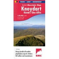 Harvey British Mountain Map - Knoydart, Kintail & Glen Affric