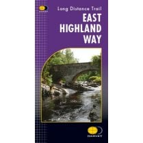 Harvey National Trail Map - East Highland Way