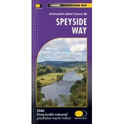 Harvey National Trail Map - Speyside Way