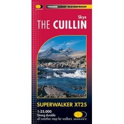 Harvey Superwalker XT25 Map - Skye, The Cullin