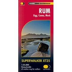 Harvey Supperwalker Map - Rum, Eigg, Canna, Muck