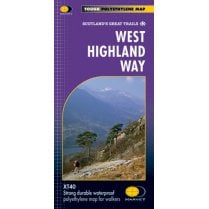 Harvey West Highland Way Trail Map