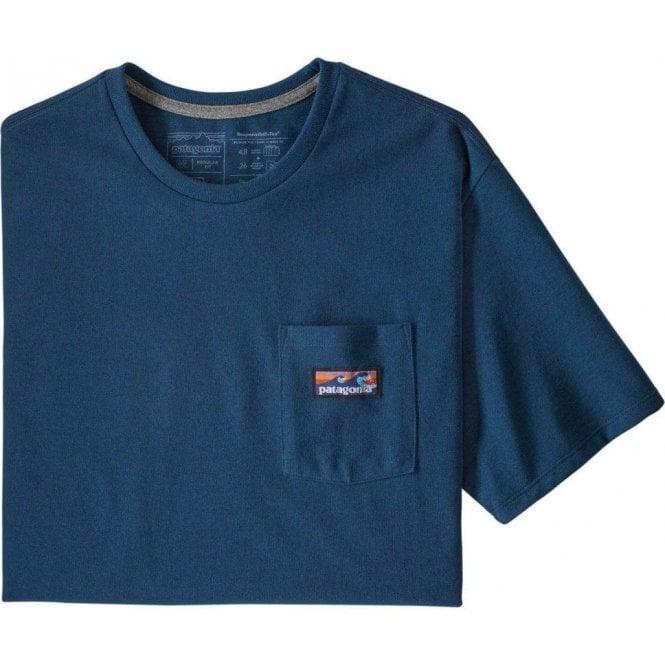 Patagonia Men's Boardshort Label Pocket Responsibili-Tee