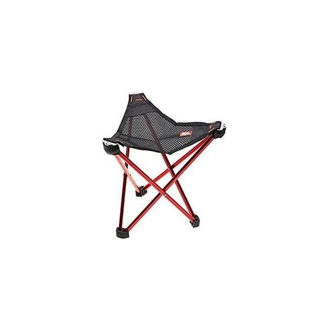 Geographic Red Camp Stool