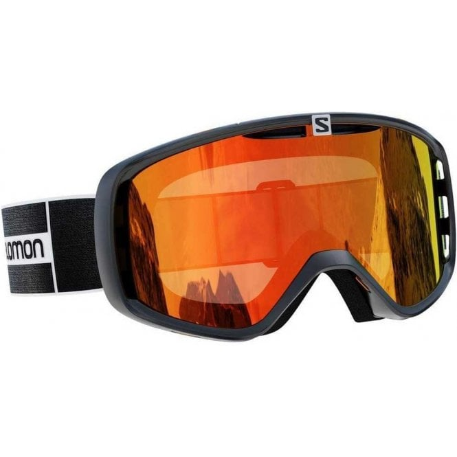 Salomon Aksium Goggles - Black/Mid Red
