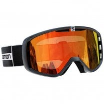 Aksium Goggles - Black/Mid Red