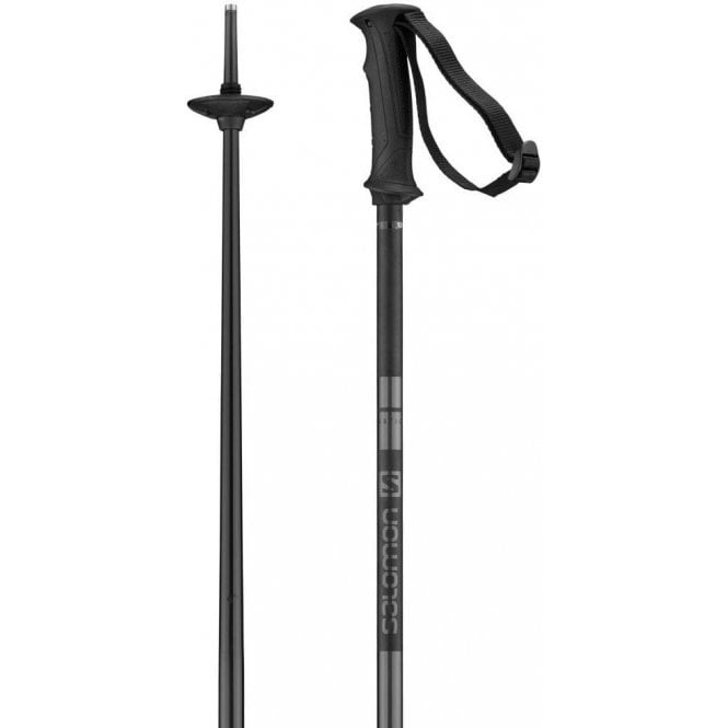 Salomon Arctic Ski Poles - Black