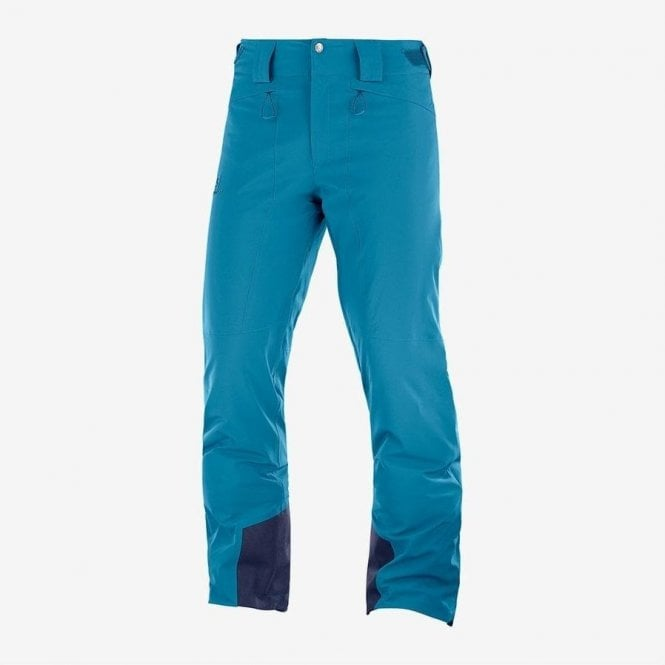 Salomon Clothing Men's Icemania Pant Lyons Blue - Regular Leg