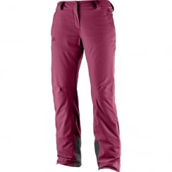 Women's Icemania Pant Beet Red - Regular Leg