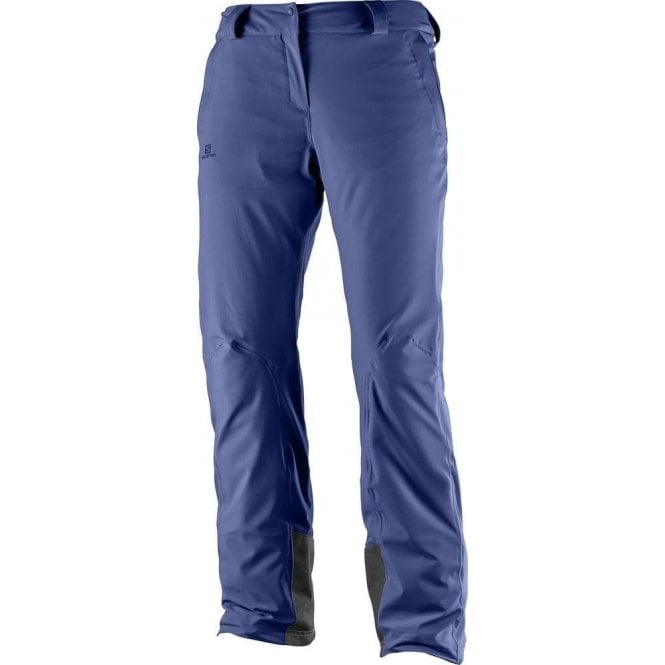 Salomon Clothing Women's Icemania Pant Medieval Blue - Regular Leg
