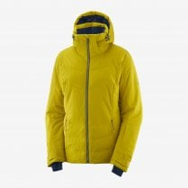 Women's Icepuff Jacket - Golden Palm
