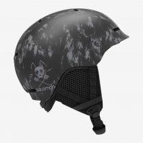Kids Grom Helmet - Black Tie & Dye
