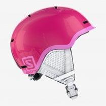 Kids Grom Helmet - Glossy Pink