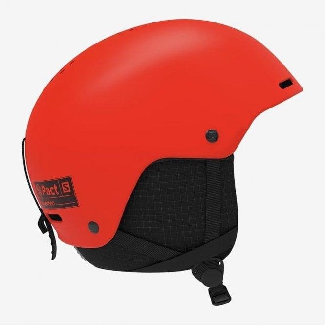 Salomon Kids Pact Helmet - Neon Orange