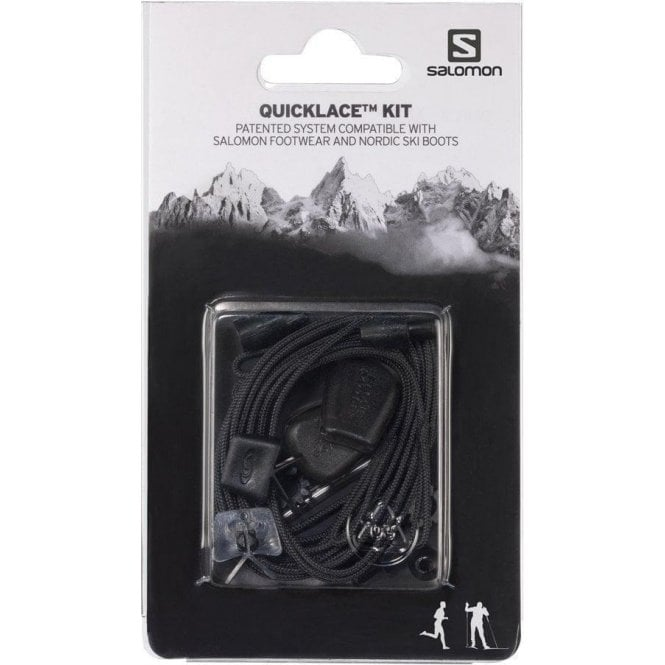 Salomon Quicklace Replacement Lace Kit - Black