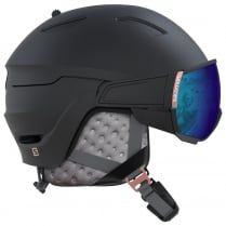 Women's Mirage Helmet - Black/Rose Gold