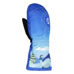 Ultimate Tot Junior Mittens in Blue Mountain Print