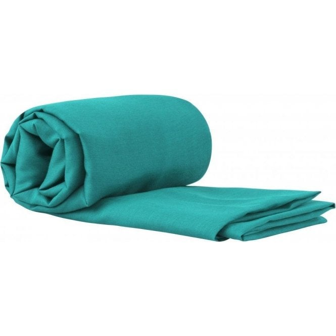 SEA TO SUMMIT Blended Silk/Cotton Travel Sleeping Bag Liner with Pillow Insert - Sea Foam
