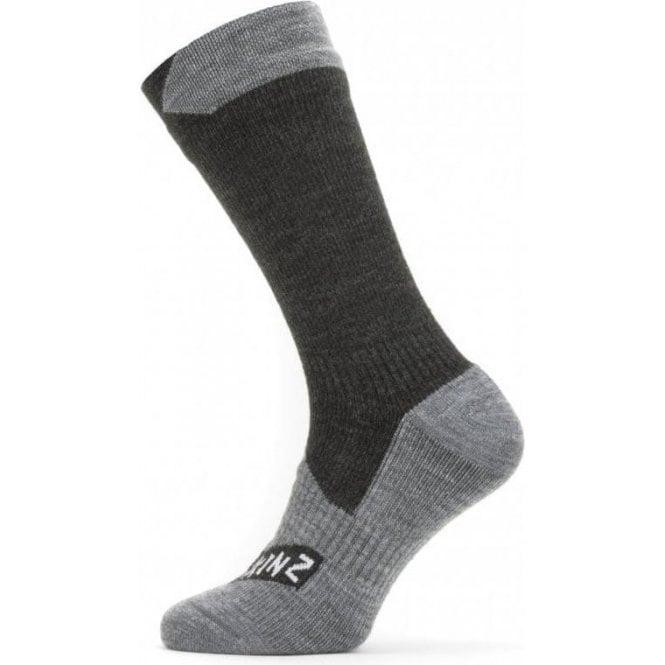Sealskinz Waterproof All Weather Mid Length Sock