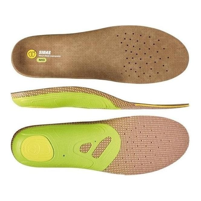 Sidas 3Feet Outdoor Mid Arch Insoles