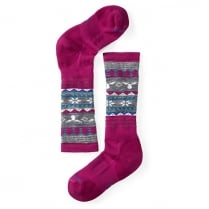Girl's Wintersport Fairisle Moose Socks