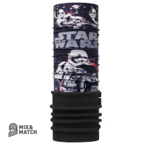 Star Wars First Order Black/Black Junior Polar Buff