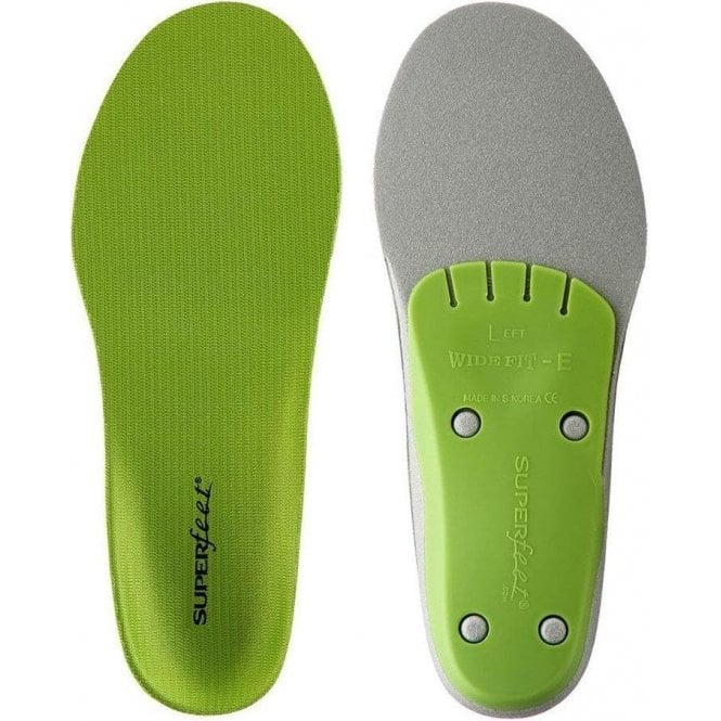 Superfeet Trim To Fit Green Performance Insoles - Wide
