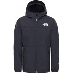 Boys Warm Storm Rain Jacket - TNF Black
