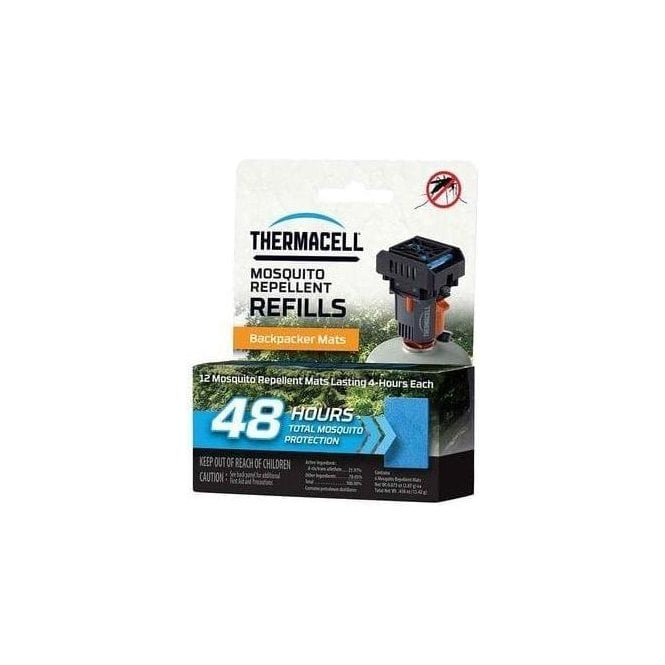 Thermacell Backpacker Mosquito & Midge Repeller Refills - 48 Hours