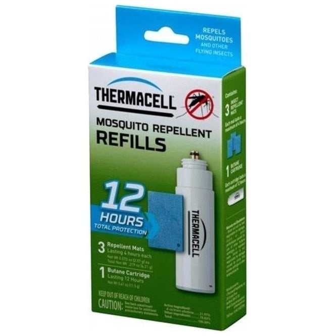 Thermacell Insect Repeller Refill Pack - Mats and Gas Standard