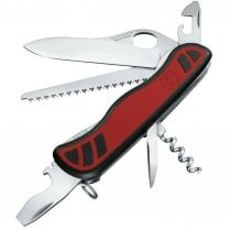 Forester Swiss Army M Grip 10-Function Pocket Knife - Red & Black